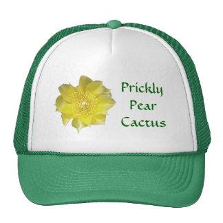 Yellow Cactus Flower Cap