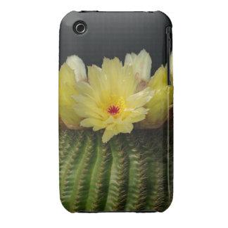 Yellow Cactus Flower Case-Mate iPhone 3 Cases