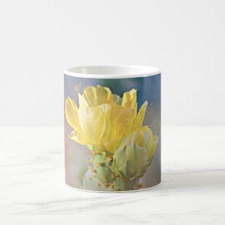 Yellow Cactus Flower Coffee Cup/Mug Coffee Mug