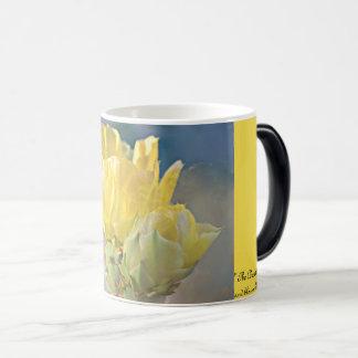 Yellow Cactus Rose Classic Coffee Mug