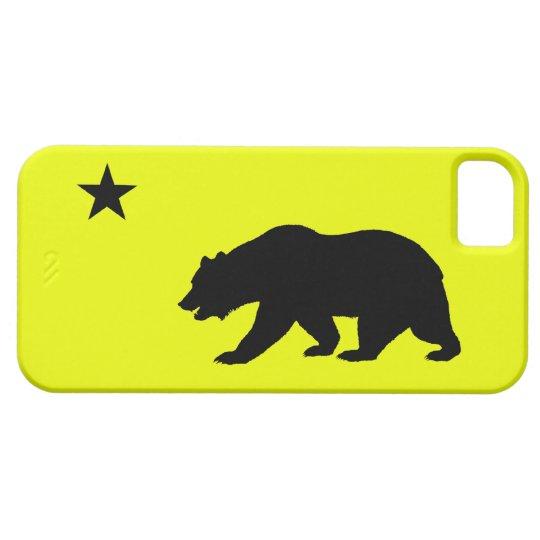 Yellow California iPhone 5 Case