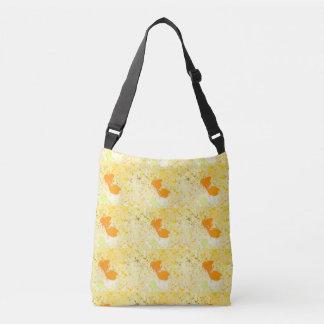 Yellow California Poppy Marguerites Wildflowers Crossbody Bag