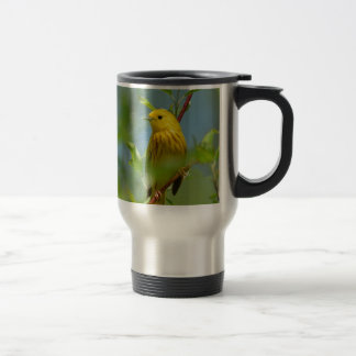 Yellow Canaryu Travel Mug