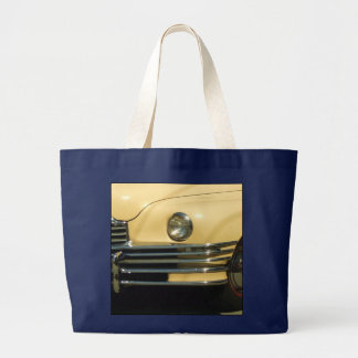 Yellow car tote bag