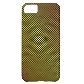 yellow carbon fiber vo.1 iPhone 5C case
