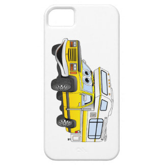 Yellow Cartoon Pick Up Camper iPhone 5 Covers