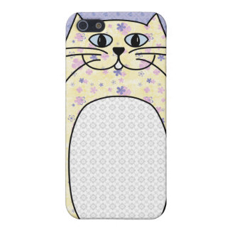 'Yellow Cat' iPhone 4 Case