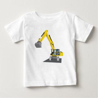yellow chain excavator baby T-Shirt