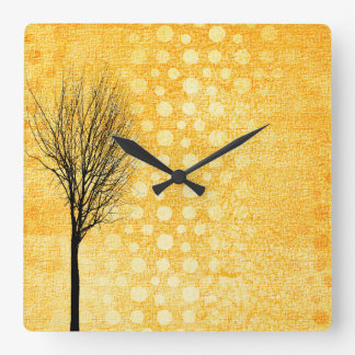 Yellow Chic Clock