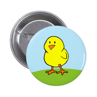 Yellow Chick Button