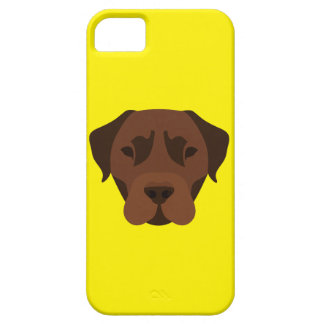 Yellow Chocolate Labrador Case For The iPhone 5