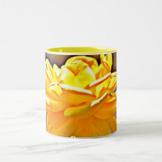 Yellow Chromatic Rose Coffee Mug