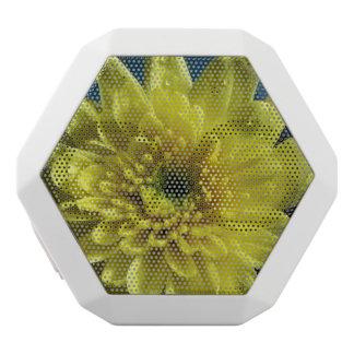 Yellow Chrysanthemums White Boombot Rex Bluetooth Speaker