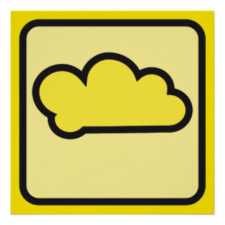 yellow cloud  02 posters