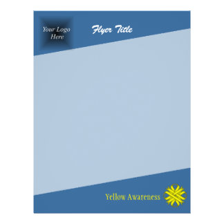 Yellow Clover Ribbon 21.5 Cm X 28 Cm Flyer