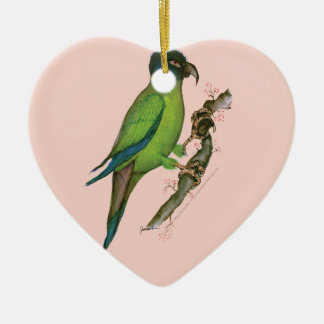 yellow collared macaw, tony fernandes.tif christmas ornament