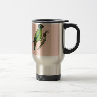 yellow collared macaw, tony fernandes.tif travel mug