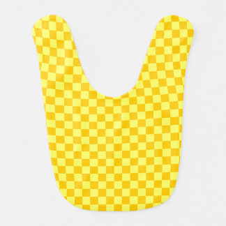 Yellow Combination  Checkerboard by ShirleyTaylor Bib