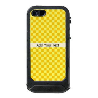 Yellow Combination Checkerboard by ShirleyTaylor Incipio ATLAS ID™ iPhone 5 Case