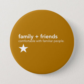 Yellow Communication Pin - Family & Friends