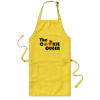 Yellow Cookie Queen Apron