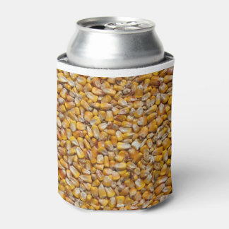 Yellow corn can cooler
