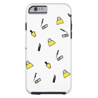 Yellow Cosmetic Beauty Case Tough iPhone 6 Case