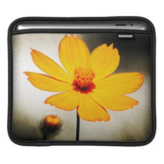 Yellow cosmos flower - Fine art - iPad sleeve