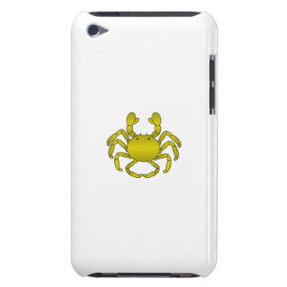 Yellow crab barely there iPod covers