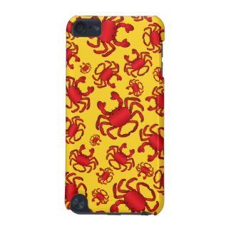 Yellow crab pattern iPod touch (5th generation) case