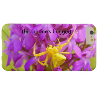 Yellow Crab Spider Bugged iPhone Case
