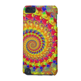 Yellow Crazy Fractal iPod Touch (5th Generation) Case