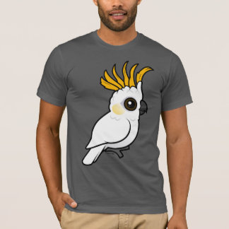 Yellow-crested Cockatoo (crest up) T-Shirt