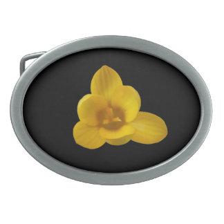 Yellow Crocus Belt Buckle