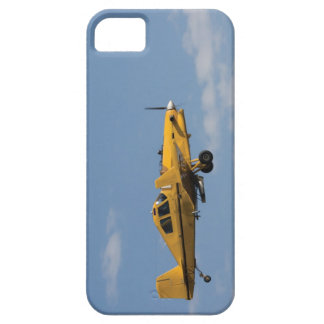 yellow crop duster side iPhone 5 case