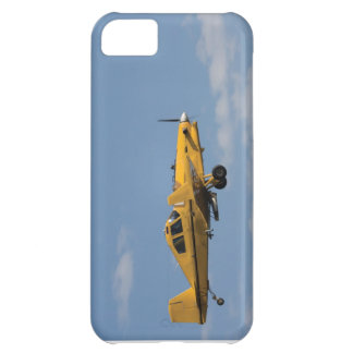 yellow crop duster side iPhone 5C case