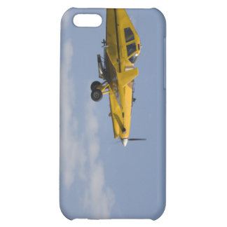 yellow crop duster side cover for iPhone 5C