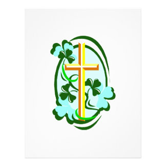 yellow cross green clovers circle.png flyers