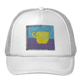 Yellow Cup Painting Hats