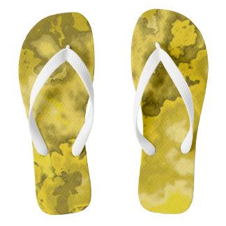 Yellow curves flip flops