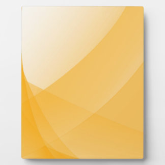Yellow curves plaque