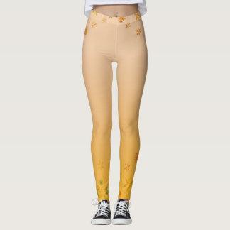 Yellow Custom Leggings
