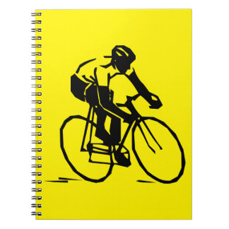 Yellow Cycling Notebook