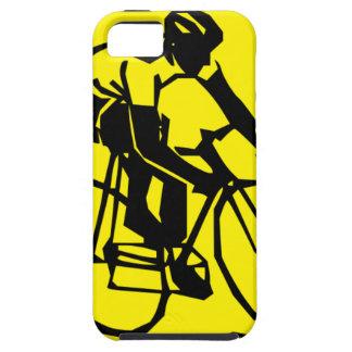 Yellow Cycling Tough iPhone 5 Case