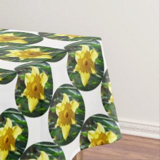 Yellow Daffodil 02.2_rd Tablecloth