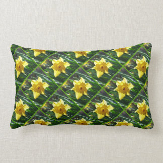 Yellow Daffodil 03.6.45.g Lumbar Cushion