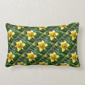 Yellow Daffodil 03.6.45.g Lumbar Pillow