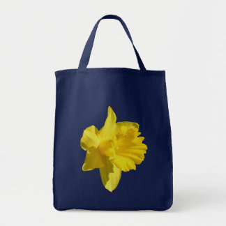Yellow Daffodil Flower Photo Tote Bag