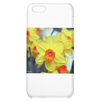 Yellow daffodil case for iPhone 5C