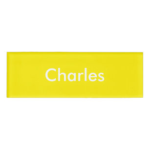 Do it yourself name tags badges zazzle yellow daffodil personalised template name tag solutioingenieria Choice Image